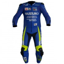 Andrea Iannone Suzuki MotoGP 2017 Motorbike Racing Leather Suit