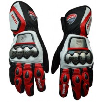 Ducati Motorbike Racing Leather Gloves MRLG1001