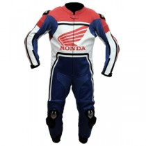 Honda Motorbike Racing Leather Suit