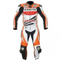Honda Repsol MotoGp 2013 Motorbike Racing Leather Suit