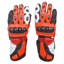 Honda Repsol Motorbike Racing Leather Gloves MRLG1003
