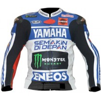 Jorge Lorenzo Motorbike Racing Leather Jacket MRLJ1003