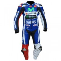 Jorge Lorenzo Yamaha Movistar MotoGp 2016 One Piece Motorbike Racing Leather Suit