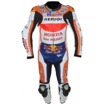 Marc Marquez Honda Repsol MotoGP 2016 Motorbike Racing Leather Suit