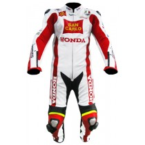 Marco Simoncelli Motorbike Racing Leather Suits MRLS1002