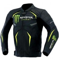 Monster Motorbike Racing Leather Jacket MRLJ1005