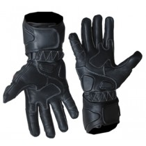 Motorbike Racing Leather Gloves