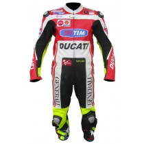 Valentino Rossi Ducati Motorbike Racing Leather Suits MRLS1004