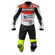 Valentino Rossi Honda Repsol VR46 Motorbike Racing Leather Suits MRLS1005