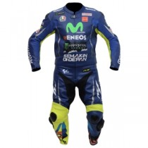Valentino Rossi VR46 Two Piece Motorbike Racing Leather Suit 2017