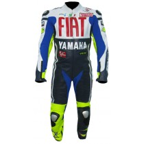 Valentino Rossi Yamaha Fiat VR46 Motorbike Racing Leather Suits MRLS1007