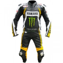 Yamaha Monster One Piece Motorbike Racing Leather Suit